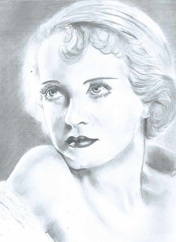 Bette Davis by daniay